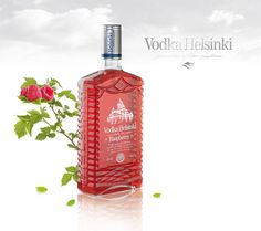 HELSINKI VODKA RASPBERRY by fufajs design, via Behance