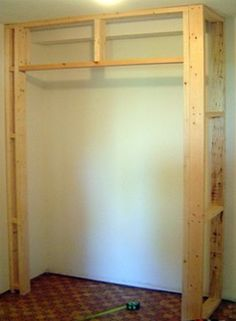 Built In Closet Walls diy built in closet cupboard Diy Wand, Diy Wardrobe, Built In Wardrobe, Capsule Wardrobe, Home Renovation, Home Remodeling, Built In Cupboards, Diy Cupboards, Build A Closet