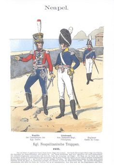 Band IV #30.- Neapel. Königlich neapolitanische Truppen. 1821.