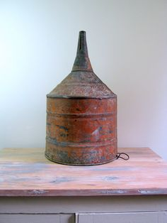 Ellisco Industrial Oil or Gas Funnel by NaturalVintage on Etsy