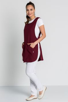 Cafe Uniform, Spa Room Decor, Hair Setting, Sewing Aprons, Kids Apron, Look Fashion, Work Wear, Normcore, Prom Dresses