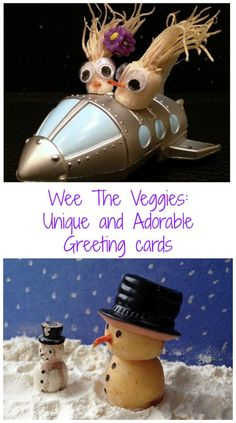 Wee The Veggies: Unique and Adorable Greeting Cards #AD | The Mama Maven Blog
