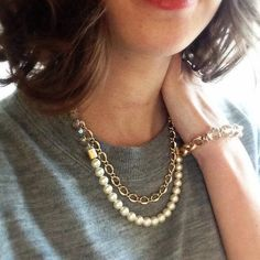 Majorly crushing on our newest collection of pearls