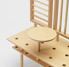 Multifunctional furniture and chairs by Zilio A&C