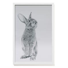 Standing Bunny Wall Art