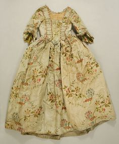 Wedding Dress Date: ca. 1760 Culture: British or French