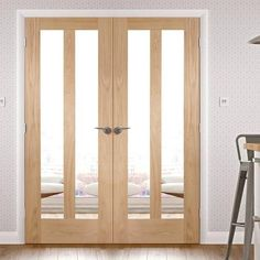 """Double Doors - Internal & External Double Doors - Direct Doors UK Tagged """"internal-french-doors"""" - July 02 2019 at Solid Wood Front Door, Prehung Interior Doors, Interior, Interior Barn Doors, Double Doors, Doors Interior, Oak Doors, French Doors Interior, Oak French Doors"""