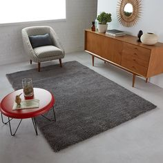 Image Afaw Woolly Effect Shaggy Rug, 3 Sizes La Redoute Interieurs