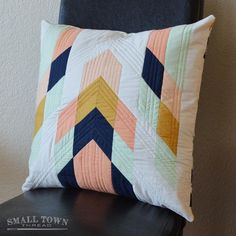 Modern Tribal Pillow Pattern pattern on http://Craftsy.com - great pattern!