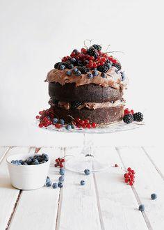 birthday chocolate cake | Flickr – #DearTopshop