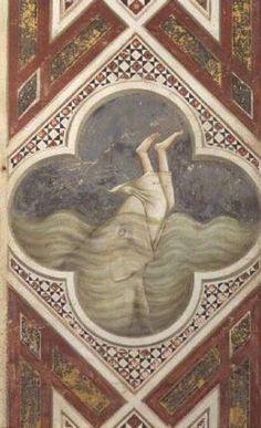 Jonás y la ballena - Giotto