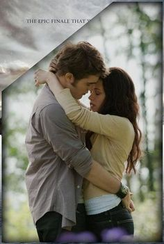 Final 'Breaking Dawn 2' Poster Teaser -- Edward & Bella #Twilight---I hope Rob gets back together with Kristen, cause I believe he truly, truly loves her.