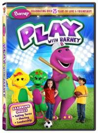 Barney: Play With Barney DVD Giveaway
