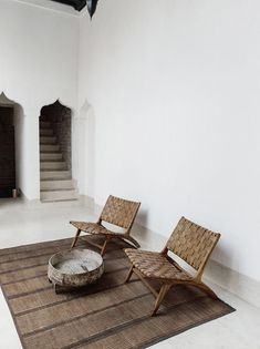 Old and new converge inside the storied walls of Marrakech holiday home Riad Wooden furniture and earthy, natural elements have been used throughout the riad to hone a sense of wellness – and calm. Interior Design Blogs, Home Interior, Interior Inspiration, Interior Architecture, Interior And Exterior, Interior Decorating, Interior Modern, Design Inspiration, Design Apartment
