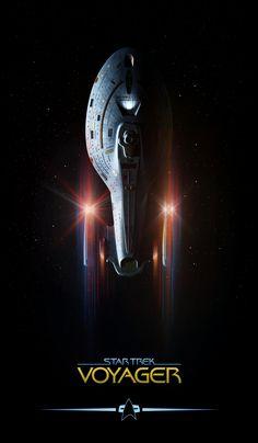 Star Trek: Voyager, by Lewis Niven ;-)~❤~