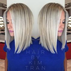 """5,227 Likes, 130 Comments - Kim Tran (@hairbykimtran) on Instagram: """"The cut & color that inspired so many of my clients these past couple of weeks! I love doing this…"""""""