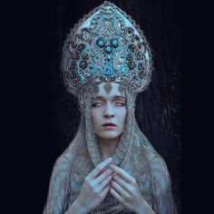 'Pagan poetry', my headpiece by @marcin_nagraba  beautiful muse @albertaberlin…