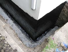 The most effective basement wall waterproofing method is exterior waterproofing. See step by step exterior basement wall waterproofing process described by Toronto Master Plumber from A to Z plumbing Basement Waterproofing Paint, Leaking Basement, Wet Basement, Basement Windows, Basement Plans, Basement Renovations, Cinder Block Walls, Home Repairs, Concrete Floors