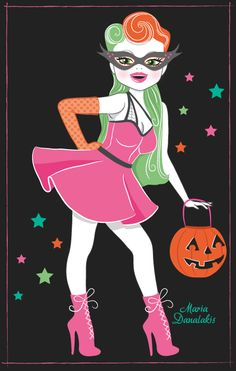 halloween by Maria Danalakis