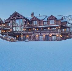 Big Sky, Montana $17,000,000 Not a bad place to enjoy the winter