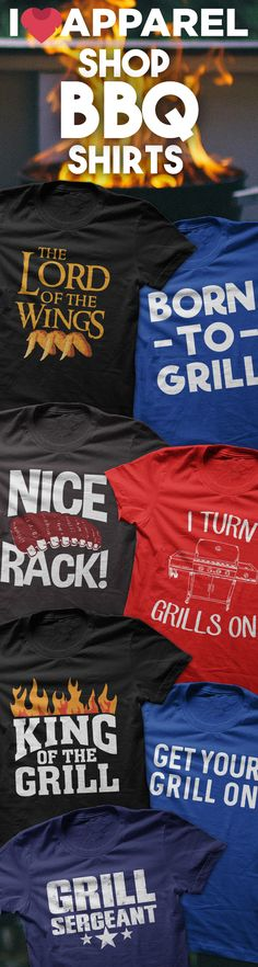 Buy Any 2 Items And Get FREE US Shipping. Check out our huge selection of BBQ shirts.