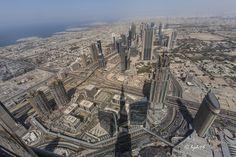 Blick vom Burj Khalifa | by hph46