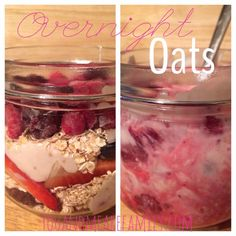 Slimming World Overnight Oats - You And Me Are Family
