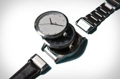 Covair Interchangeable Watches /  / Gear. Style. Cars. Tech. Vices. http://pinterest.com/uncrate