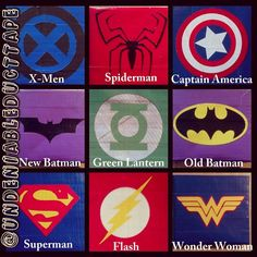 Superhero Duct Tape Wallet by Undeniability on Etsy, $12.00