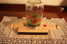 mason jar candy dispenser diy - Google Search