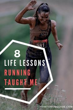 8 Life Lessons Running Taught Me - if you're training for a or doing half marathon training, you'll like these life lessons running teaches us. Running On Treadmill, Running Gear, Girl Running, Running Workouts, Running Training, Trail Running, Triathlon Training, Running In The Dark, Running Form