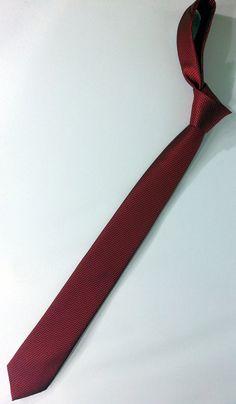 Red Tie Red and Black Men's Necktie Red Cravat by PeraTime #handmadeatamazon #nazodesign