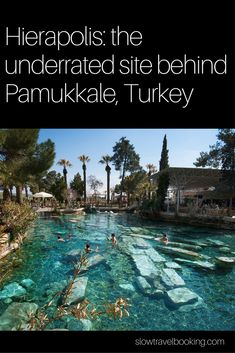 When you find a list of top things to do in Turkey, Pamukkale is bound to be on there. But rarely does that list feature Hierapolis, the ancient city that has always been home to the travertines of Pamukkale. And trust us, visiting Hierapolis is well worth your time. So don't visit Pamukkale without dedicating enough time to Hierapolis as well!