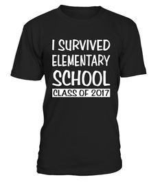 """# I Survived Elementary School 2017 Graduation T-Shirt Gift .  Special Offer, not available in shops      Comes in a variety of styles and colours      Buy yours now before it is too late!      Secured payment via Visa / Mastercard / Amex / PayPal      How to place an order            Choose the model from the drop-down menu      Click on """"Buy it now""""      Choose the size and the quantity      Add your delivery address and bank details      And that's it!      Tags: Funny Graduation Gift Tee…"""