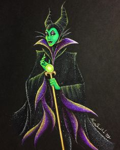 maxxstephen: Sorry for posting late haha, I kinda forgot I said I would, but here's a full view of Maleficent from the other day! Walt Disney Pixar, Disney Nerd, Disney Fan Art, Disney Love, Disney Magic, Dark Disney, Evil Villains, Disney Villains, Disney Princesses