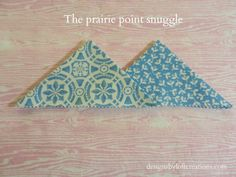 How to make Prairie Points