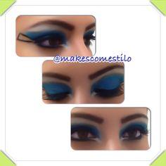 By Makes com Estilo Azul celestial