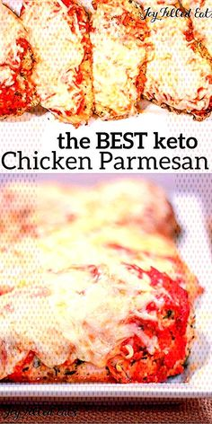 #trimhealthymama #chickenrecipes #easyrecipes #glutenfree #restaurant #grainfree #... Italian Baked Chicken, Easy Baked Chicken, Keto Chicken, Chicken Recipes, The Dish, Grain Free, Parmesan, Lasagna, Glutenfree
