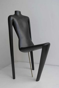 Unique Mannequin Chair,  Switzerland 1970's