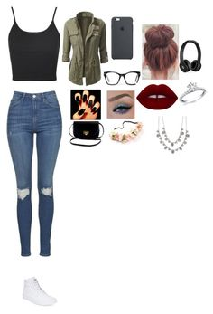"""Untitled #201"" by queefashion on Polyvore featuring beauty, Topshop, Spitfire, Lime Crime, Beats by Dr. Dre, Givenchy and Vans"
