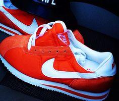 Red Nike Cortez.. Classics