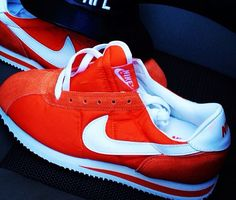 Nike Cortez Red On Feet