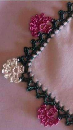 Crochet Earrings Pattern, Crochet Edging Patterns, Crochet Lace Edging, Crochet Borders, Baby Knitting Patterns, Crochet Flowers, Crochet Afgans, Knit Or Crochet, Filet Crochet