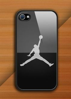 Personalized Michael Jordan Logo Photo for Phone 4 iphone 4s Print iphone hard case for iphone 4, iphone 4S-plastic cover