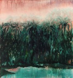 Alexia Vogel Jungle oil on canvas