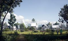 ReGen eco village Fancy life in an eco-village? Welcome to the hi-tech off-grid communities Residents in an eco-village project piloted in the Netherlands will produce solar and biogas power, grow their food and recycle waste into fertiliser Architecture Renovation, Green Architecture, Public Architecture, Agriculture Verticale, Off Grid Communities, Studio Arthur Casas, Vertical Farming, Off The Grid, Urban Farming
