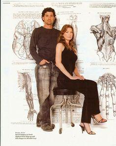 Patrick Dempsey and Ellen Pompeo