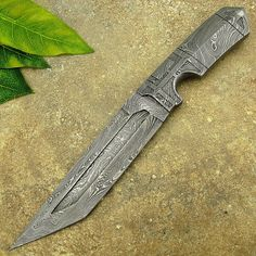 Doug Lewis's Custom Handmade Damascus Steel Art Knife ~ One of a Kind ~ Fully Integral Forged ~ Knife of the Millennium Handmade item Materials: Damascus steel, Forged, 1095, 15N20, 1080, 1060, Carbon steel