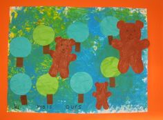 Ecole maternelle Renan Roubaix - Boucle dor et les 3 ours Traditional Stories, Goldilocks And The Three Bears, Album Jeunesse, Eyfs, 3 D, Fairy Tales, Beer, Teddy Bear, Kids Rugs