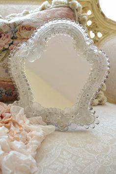 Meet Me in St Louis! Venetian Glass, Venetian Mirrors, Murano Glass, I Love Mirrors, Mirror Mirror, Dressing Table Mirror, Dressing Tables, Clear Glass, Glass Art